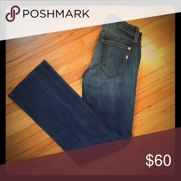 Genetic Jeans. Size 25. Like New. Riley style. Boot cut fit w silver hardware and some stretch. Genetic Denim Jeans Boot Cut