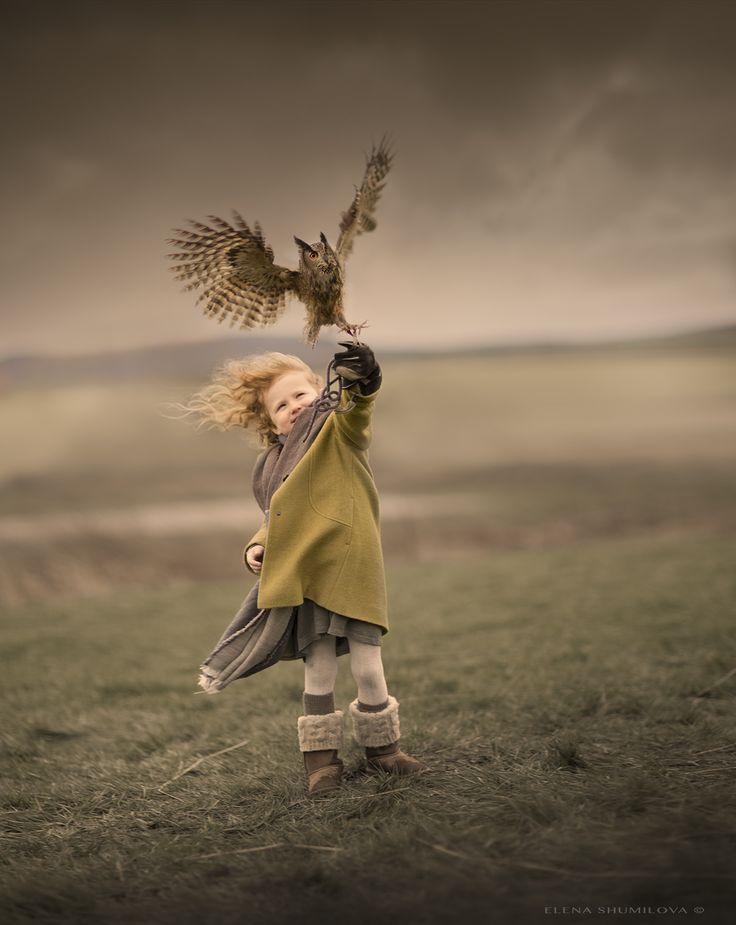 ..Brave Grace.. from the workshop in Scotland ♦ Photo by Elena Shumilova