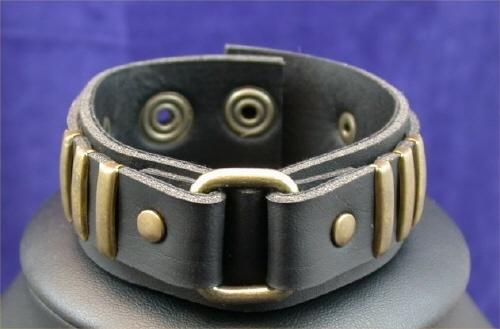 Brass Buckle Cuff