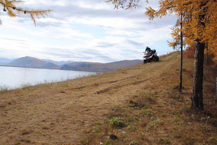Панорамная трасса, вдоль озера Байкал.
