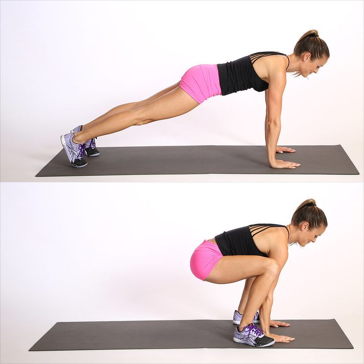Froggers -  10 Do-Anywhere Exercises to Burn 200 Calories in Under 3 Minutes | POPSUGAR Fitness UK