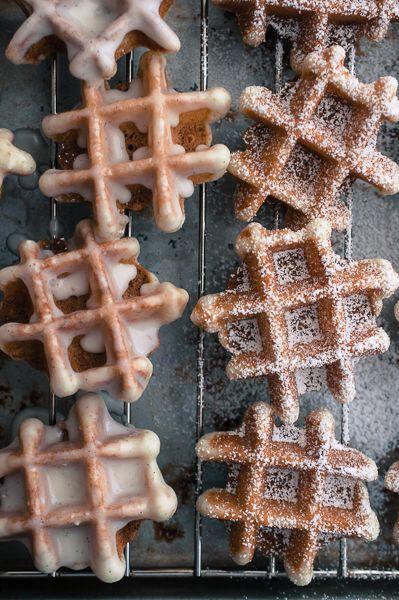 Vanilla Bean Waffle Doughnuts {recipe}