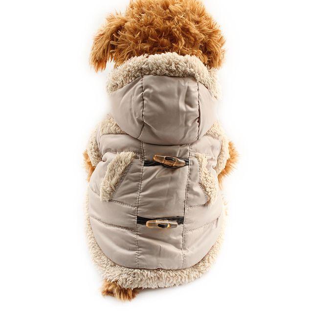 Арми магазин Кнопка Мода Теплый Пальто Собаки Собаки Зимняя Шапка Пальто Куртки 6141032 Одежда Для Животных Поставок