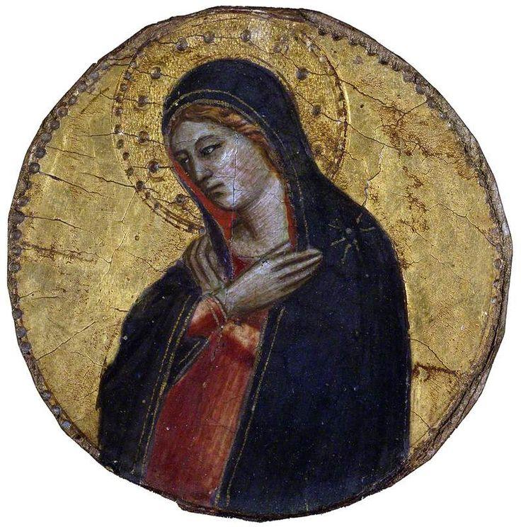 Nardo di Cione (bottega di) - La Vergine dell'Annunciazione -  Ashmolean Museum of Art and Archaeology, Oxford