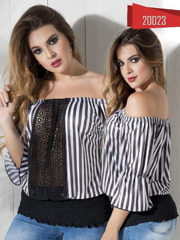 Blusa Moda Colombiana Cereza  - Ref. 111 -20023