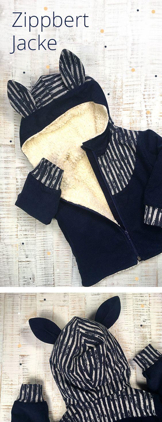 Eine kuschelige Übergangsjacke » Zippbert Jacke Nr.1