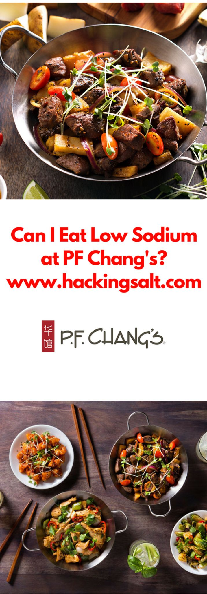 Can I Eat Low Sodium at PF Changs We have discussed before how hard it is to find low sodium Asian Dishes. Restaurants make that task much harder. Asian cuisine and sauces are all based upon their base foundation of soy sauce. Soy sauce is very high in sodium, even when it is touted as...Read More »