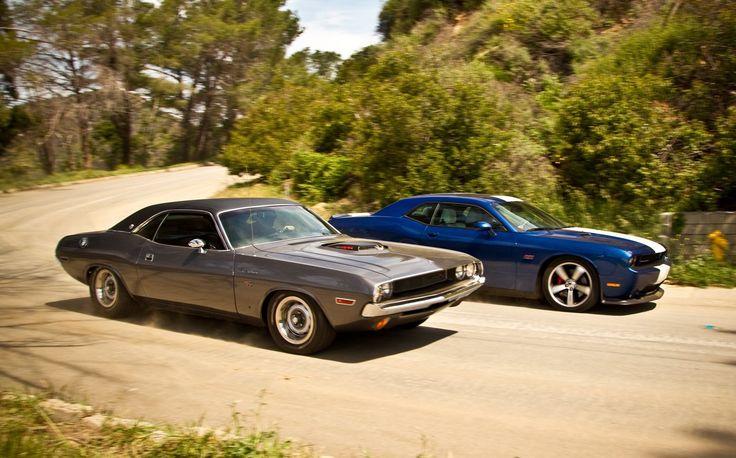 1970 Challenger R/T, 2011 Challenger SRT8
