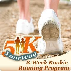 5K Your Way: Rookie Runner training plan gets you from couch to 5K in 8 weeks