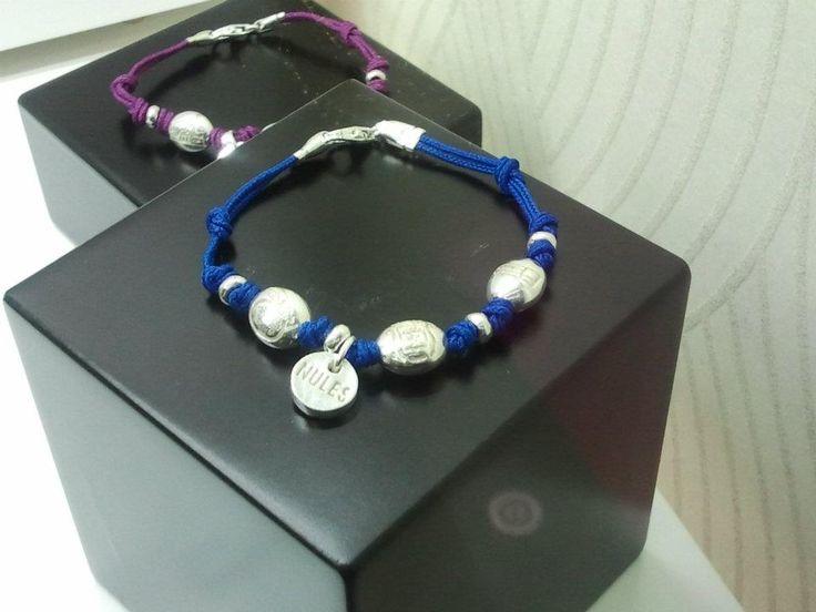 Las pulseras de Nules creadas por Joyería Carlos. ¿Os gustan?