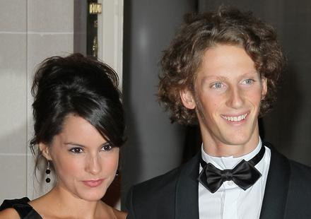 Romain Grosjean et Marion Jollès : fiancés !