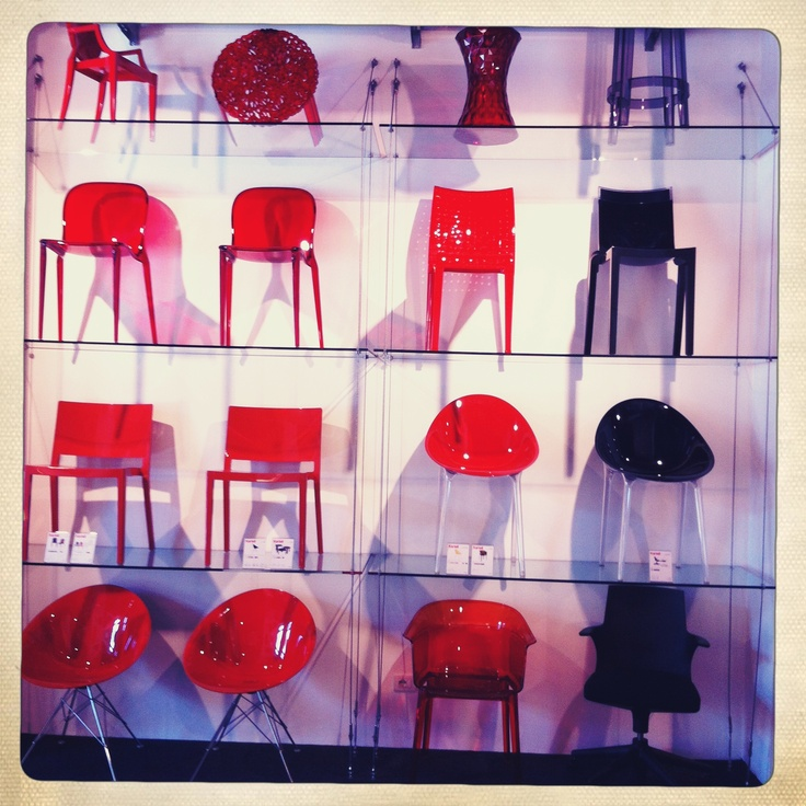 Red & Black in Kartell Verona