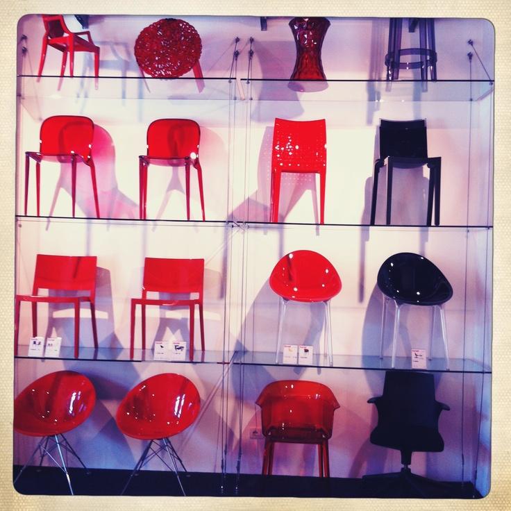 Red & Black in Kartell Verona