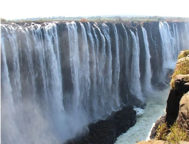 The 18 best the worlds largest waterfalls images on pinterest victoria falls is 5600 feet wide and located on the zambize river in zimbabwe publicscrutiny Images