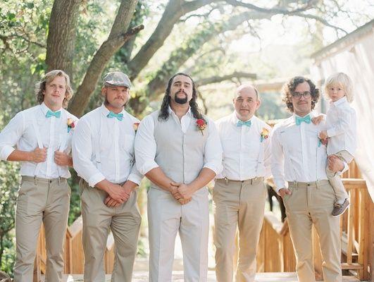 Malibu Beach Wedding Groomsmen    Photography: Lucy Munoz Photography   Read More:  http://www.insideweddings.com/weddings/cj-perry-and-miroslav-barnyashev/961/