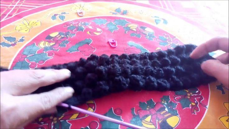 Tutorial Gorro Barba Crocheteando con la comadre pt2 - YouTube