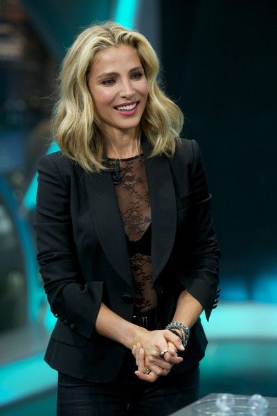 Elsa Pataky Lookbook: Elsa Pataky wearing Medium Wavy Cut (9 of 55). Elsa Pataky worked a beachy wavy 'do during her 'El Hormiguero' appearance.