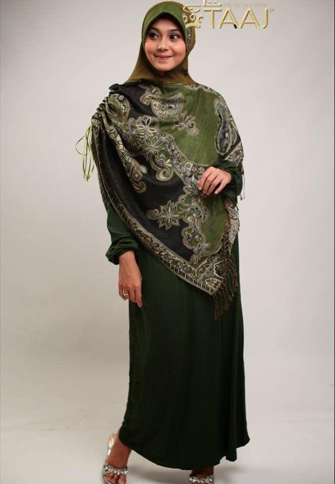 Hijab Taaj, Pashmina instan