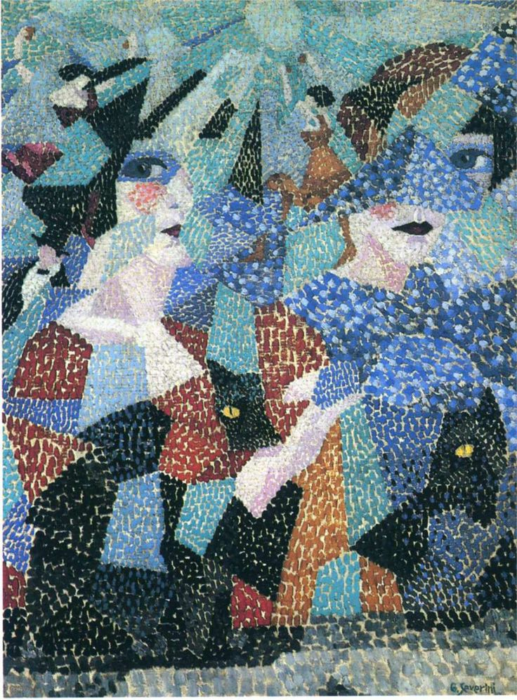 The Haunting Dancer - Gino Severini -