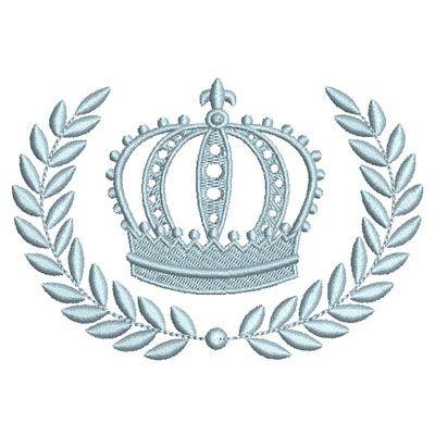 Molduras provençais com coroas