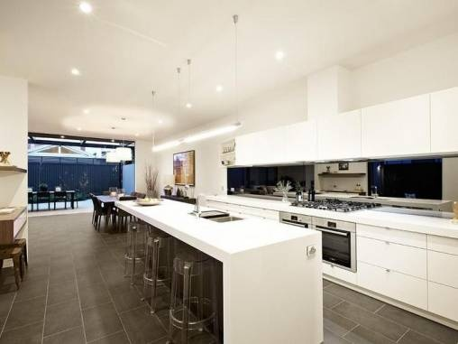 Double Oven Under Cooktop Galley Kitchen Dining Pinterest Double Ovens Pine And Ovens