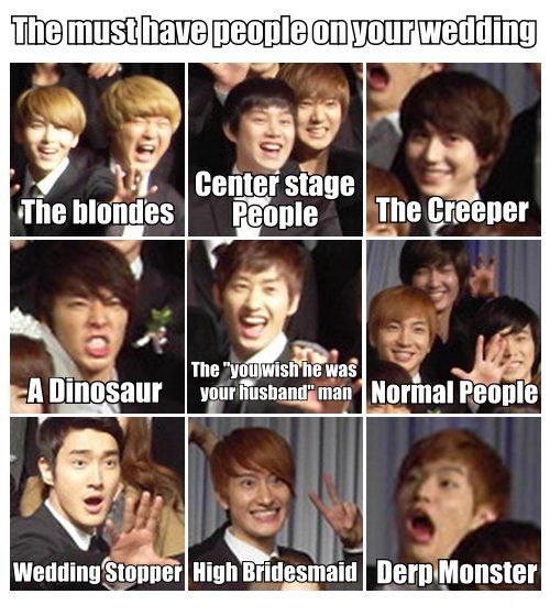 omg yes! THIS WILL HAPPEN! Except Henry will be the groom!! And Yesung will be the photographer! Come visit kpopcity.net for the largest discount fashion store in the world!!