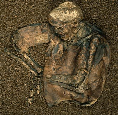 Lindow Man's remains