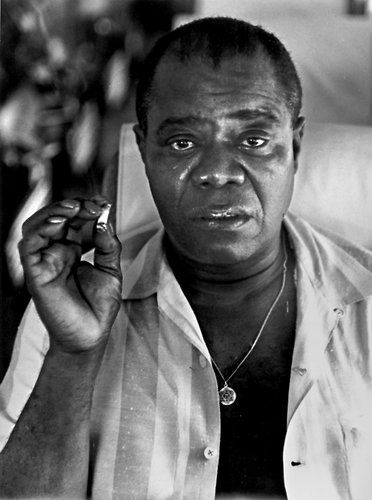 Louis Armstrong, 1960 - the year I saw him on tour in Salisbury, Southern Rhodesia.