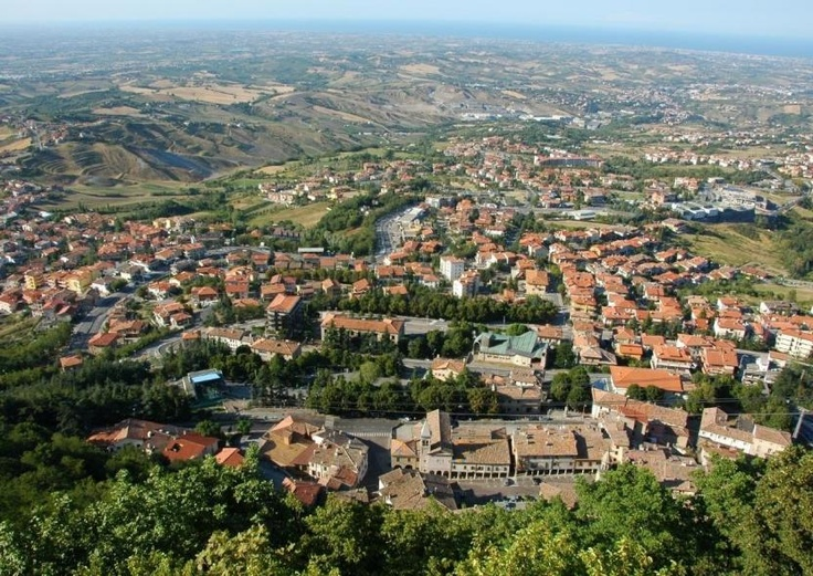 PRETTY. The Republic of San Marino is a small sovereign country located in the Apennine Mountains on the Italian Peninsula in Southern Europe.