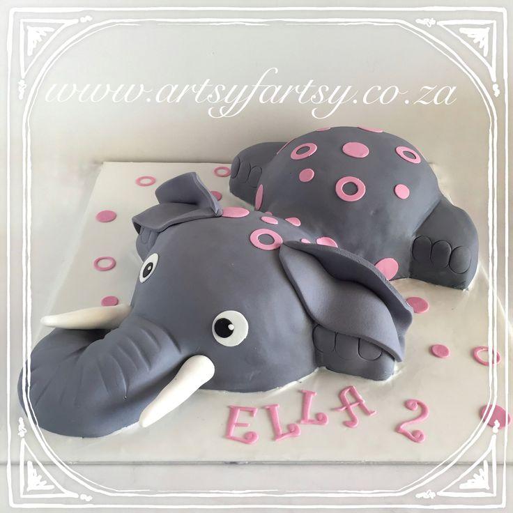 Elephant Cake #elephantcake