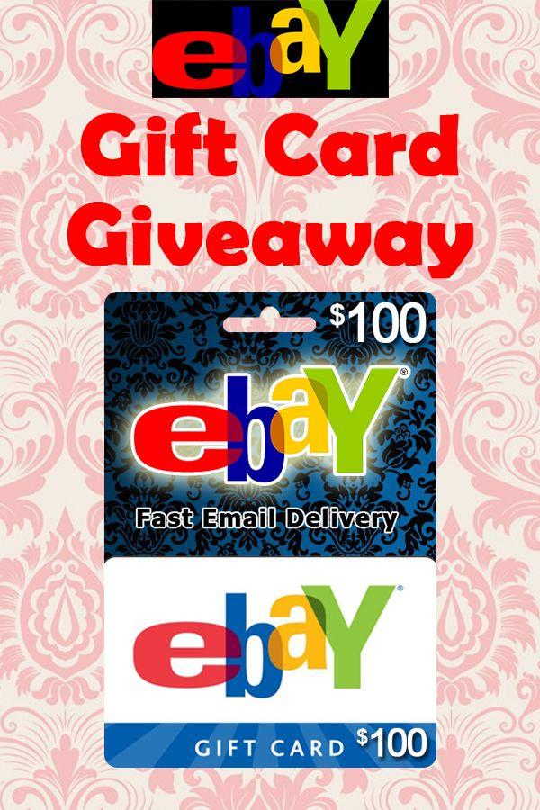 Free Ebay Gift Card Ebay Redeem Code In 2020 Ebay Gift Get Gift Cards Gift Card Generator