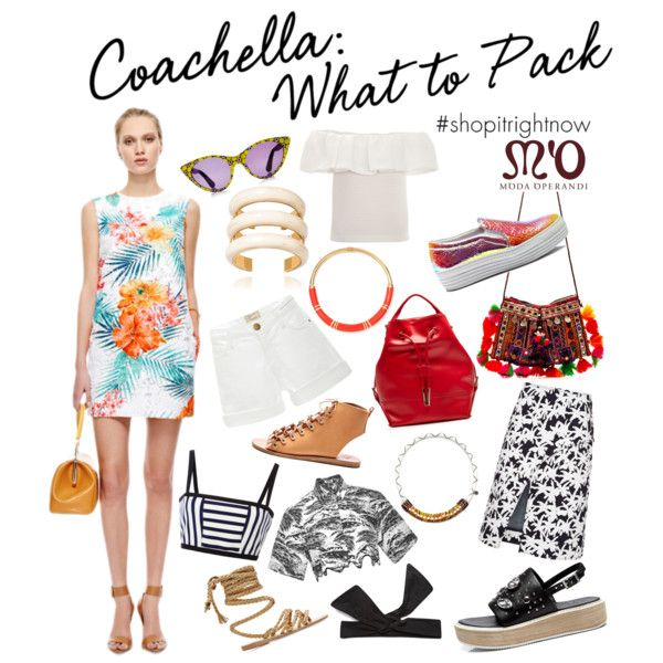 """Coachella: What to Pack in the M'O Boutique"" by modaoperandi on Polyvore"