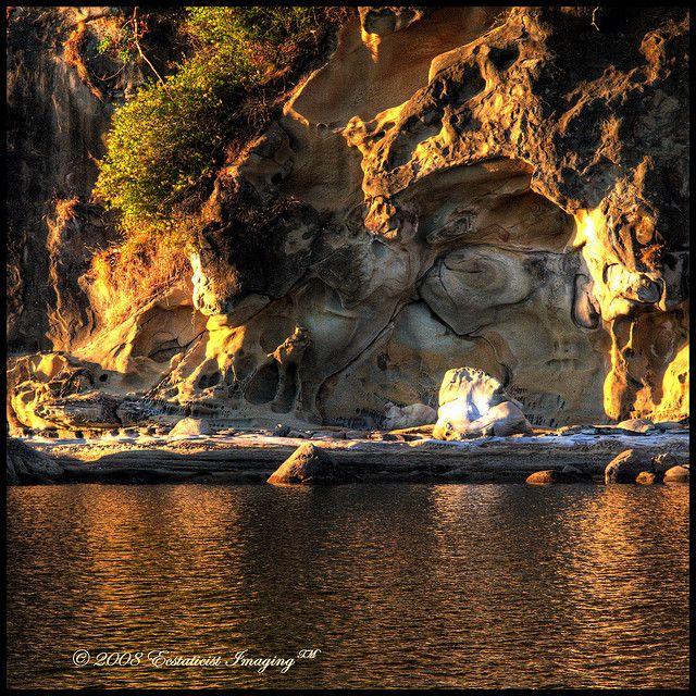 Hornby Island Shoreline, British Columbia, Canada | by ecstaticist, via Flickr