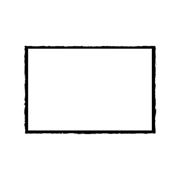 Outline Border Rectangle Black White Liked On Polyvore Featuring Frames Backgrounds Borders Outlines Black Fillers Black Rectangle Rectangle Border