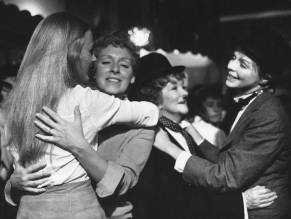 """Susannah York and Beryl Reid """"The Killing of Sister George"""" 1968"""