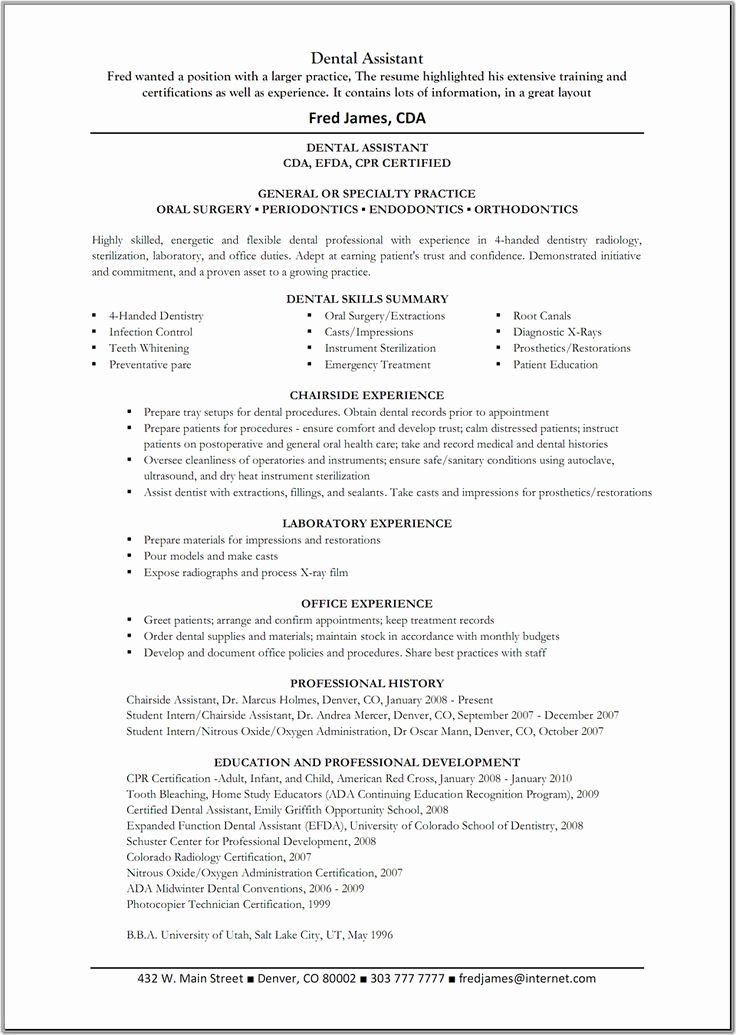 Entry Level Dental Assistant Resume Beautiful Dental Assistant Resume Template G Dental Hygienist Resume Dental Assistant Job Description Dental Assistant Jobs