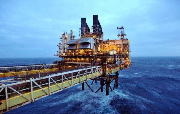المصري للتأمين يطالب لجانه الفنية بزيادة الإكتتاب بفرع البترول لتغطية الاكتشافات الجديدة Oil Platform North Sea Oil Rig
