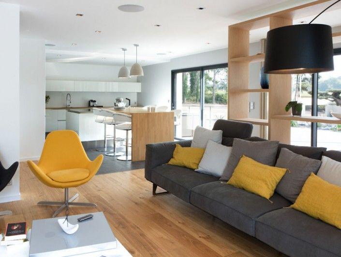 Caroline Desert interior designer.  ELECTA lounge chair from Calligaris