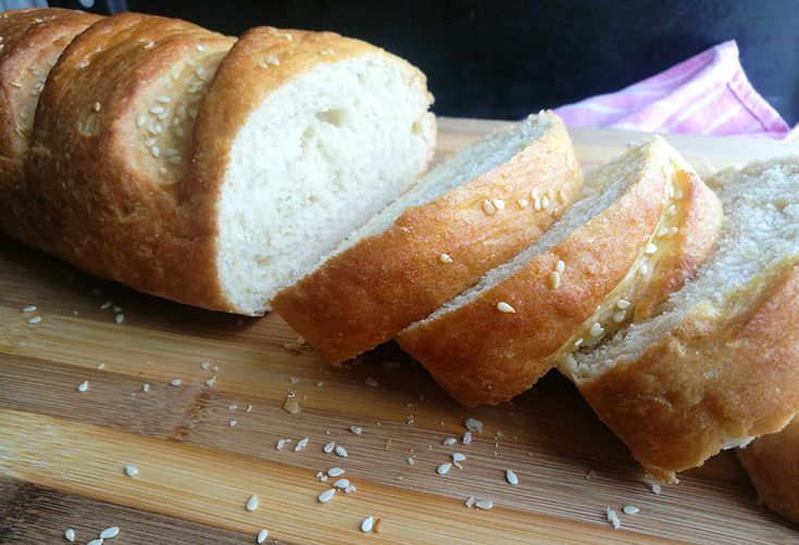 Easy No Knead French Bread | Bread, Recipes, Foodie