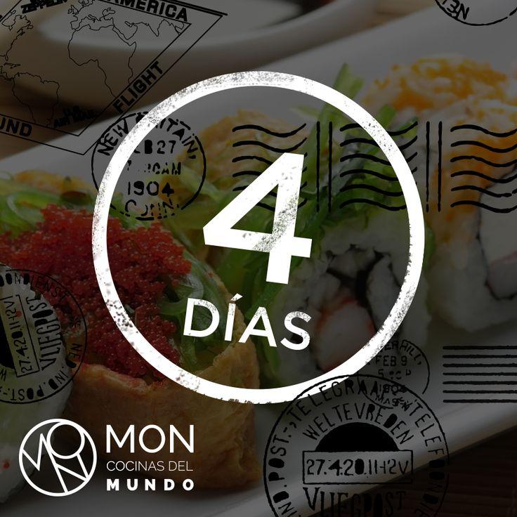 4 days to start traveling around the world with the flavors of MON Cocinas del Mundo.  http://lasamericasgoldentower.com/restaurantes-estrella-michelin-panama/mon-cocinas-del-mundo/