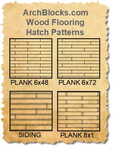 Autocad Wood Flooring Hatch Patterns There Are Wood Floor