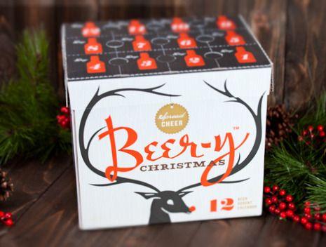 An advent calendar for men! Christmas beer advent calendar!