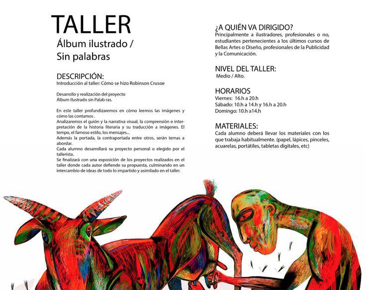 Ajubel workshop en Avilés http://www.educaniemeyer.org/p682480-ajubel-workshops-album-ilustrado-sin-palabras.html