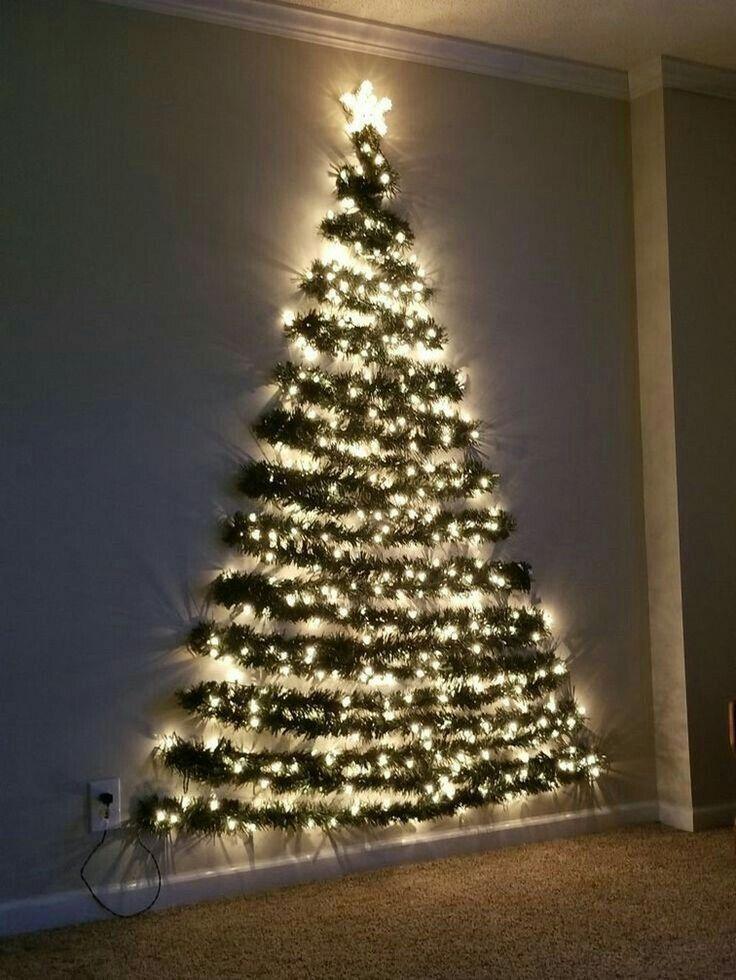 36 Diy Wall Christmas Tree Ideas