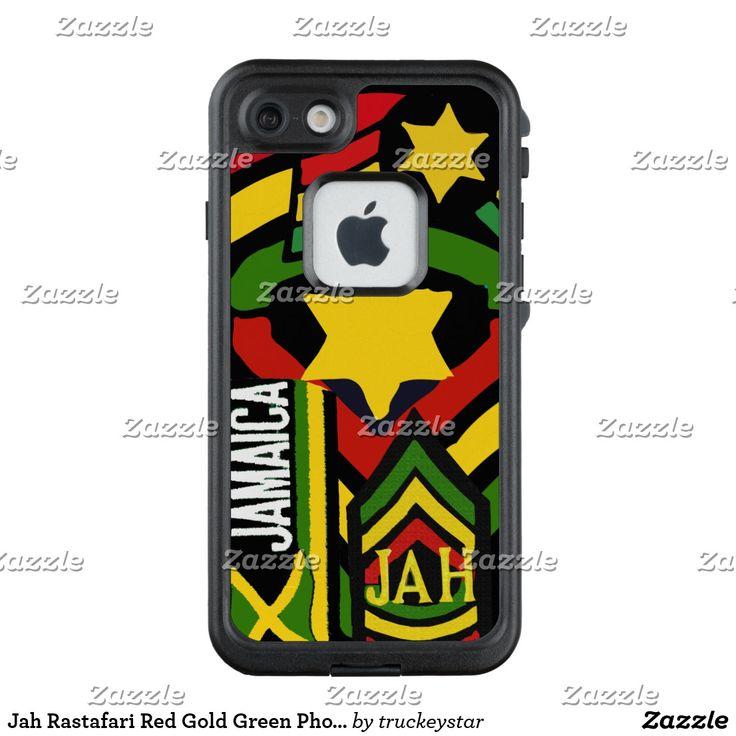 Jah Rastafari Red Gold Green Phone Cover
