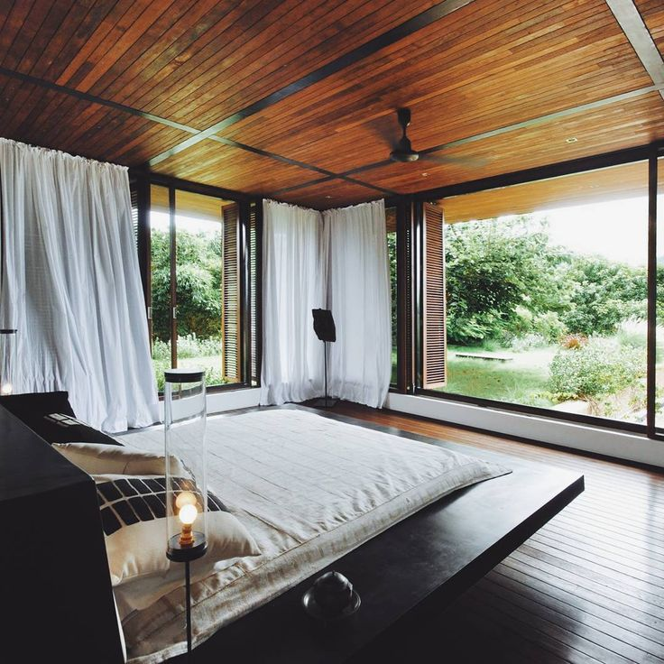 Architecture, Luxurious Bedroom Design In Nature Lover Concept Apply Wooden  Materials In All Side Of Building Also Wooden Furniture What Is Trend ...