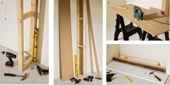 Costruire un portabottiglie da parete - Bricoportale: Fai ...