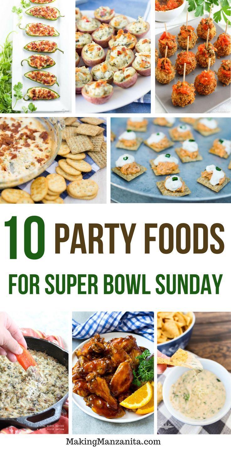 10 Delicious Super Bowl Recipes Creative Decorations