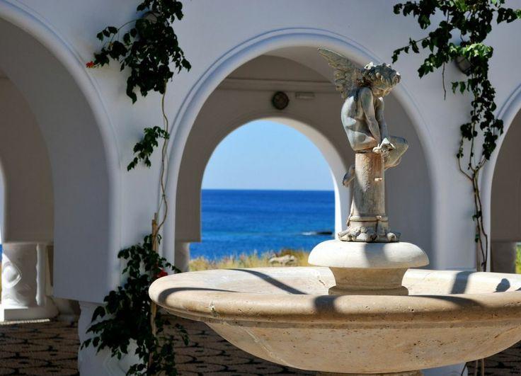 Kallithea Natural Springs In Rhodes Island Greece Greek Island Holidays Greece Holiday Holiday Village Rhodes