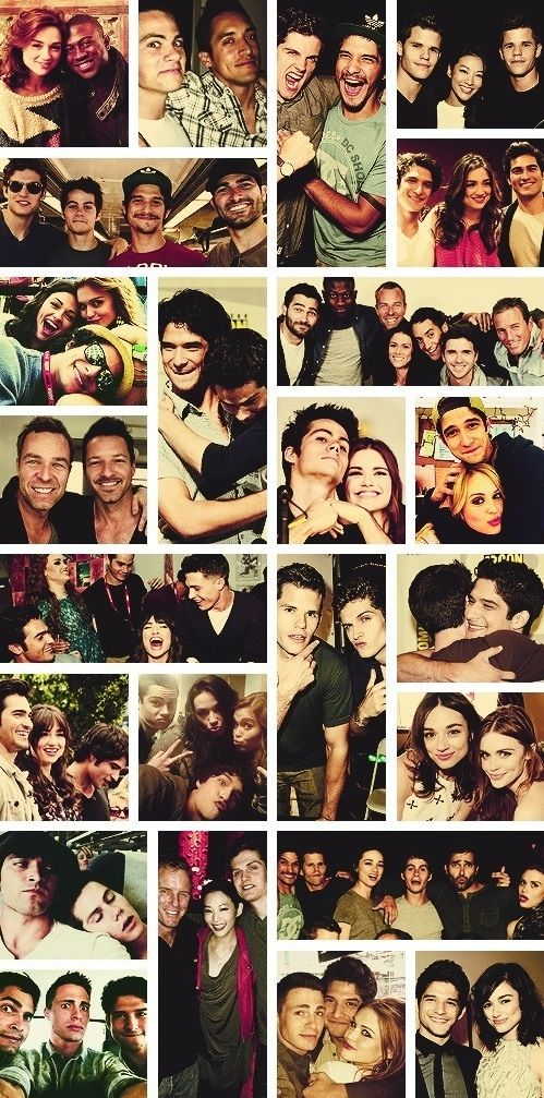 Teen Wolf Cast - I want to be a part of this cast, they are just the BEES KNEES :)